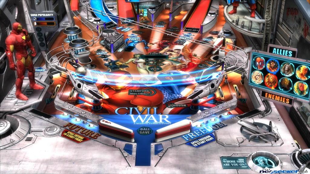 Zen Pinball 2: Marvel Civil War