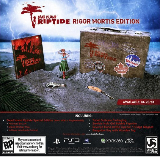 Photo of Dead Island Riptide: Rigor Mortis Edition Announced, Very Limited Quantities