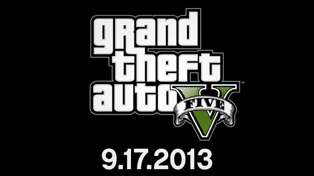 Grand Theft Auto V Gets An Official Release Date
