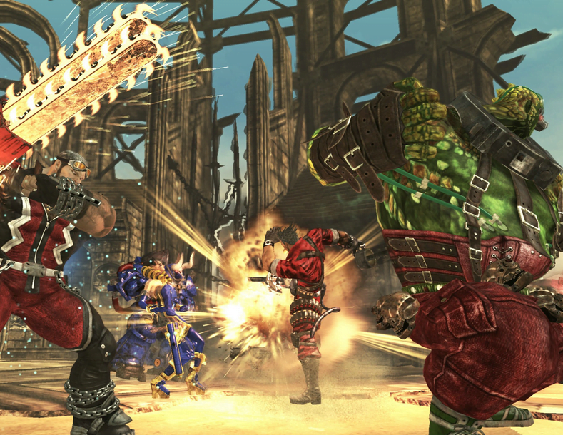 Photo of Anarchy Reigns Available On PSN! If You Live In Europe…