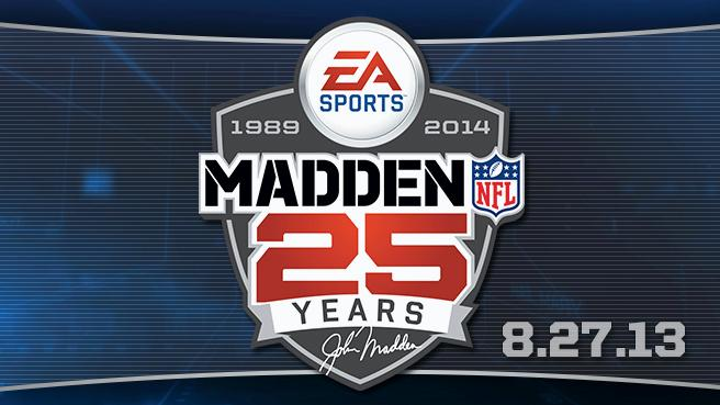 Madden NFL 25 Arriving August 27
