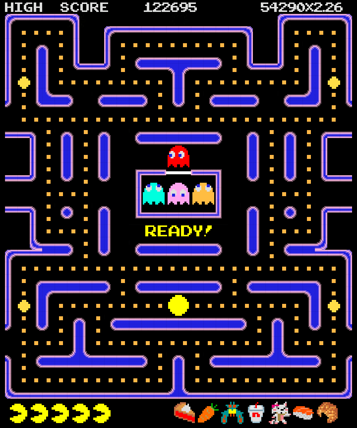 This is a graphic of Luscious Pac Man Picture