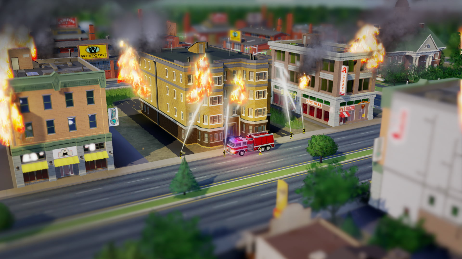 (Sim)City on Fire