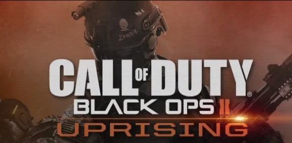 Call of Duty Black Ops II Uprising Logo