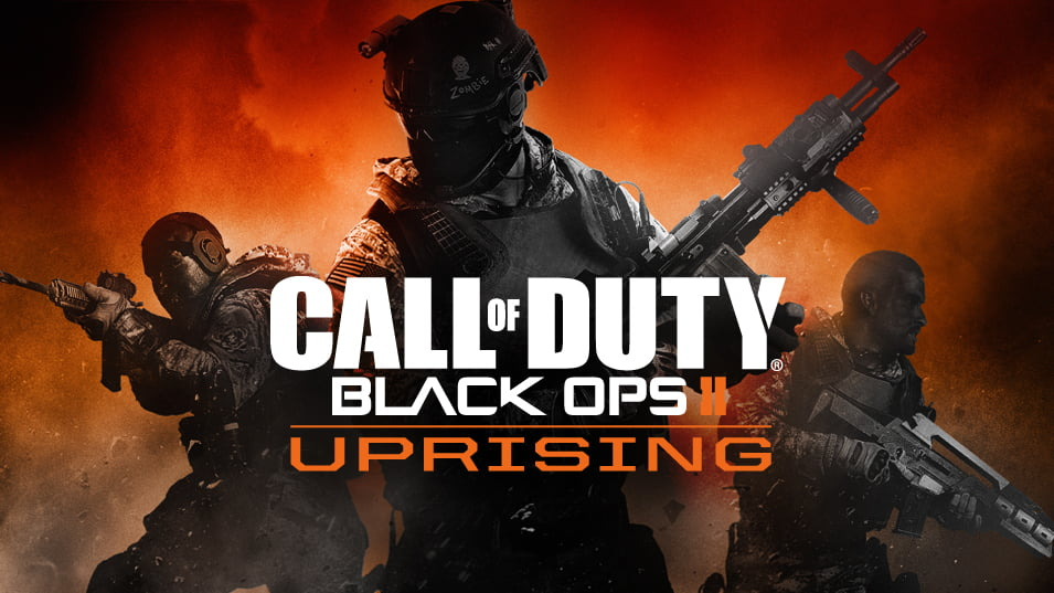 Call of Duty Black Ops II Uprising Logo