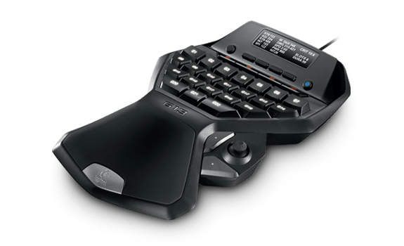 29 programmable buttons with 87 functions all within the reach of a single hand.