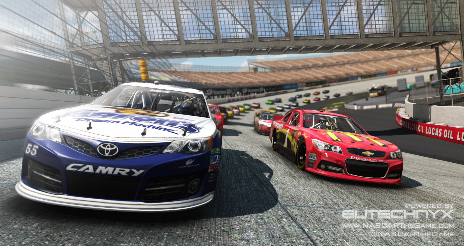 Photo of Eutechnyx Announces 2 New NASCAR Games for PC and Mobile