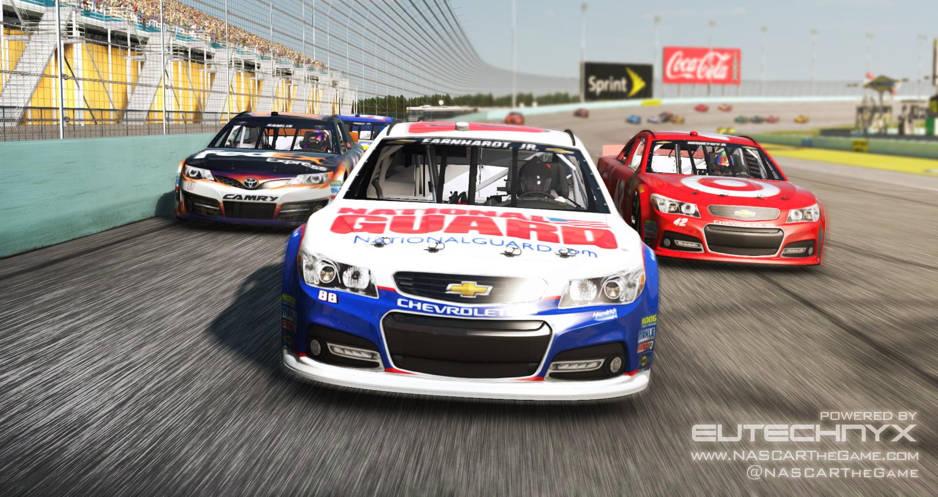 eutechnyx announces 2 new nascar games for pc and mobile gizorama