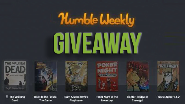 GIZORAMA Giveaway: Telltale Games Humble Bundle