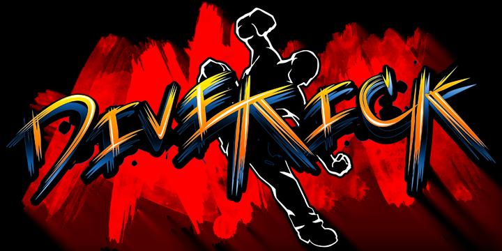 Divekick Logo