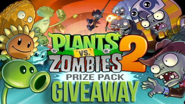 GIZORAMA Giveaway: Plants vs Zombies 2 Prize Pack