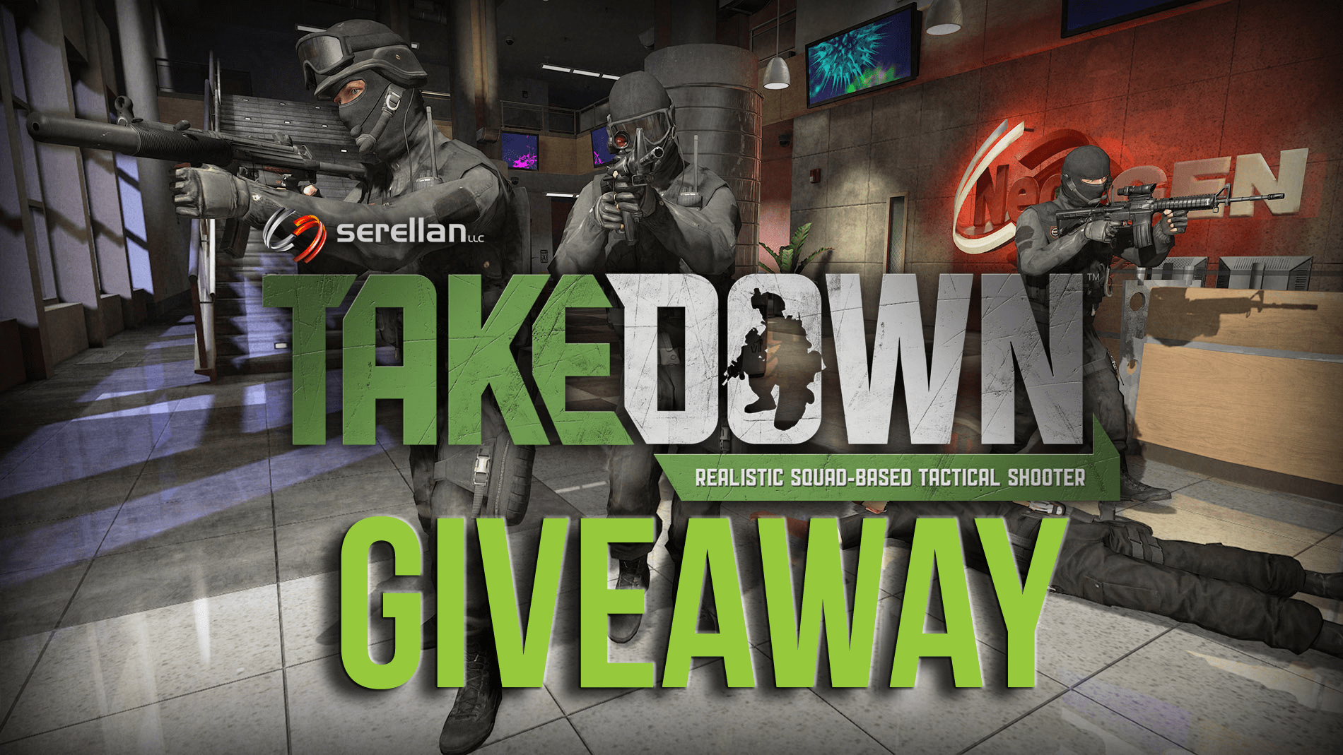 GIZORAMA Giveaway: Takedown: Red Sabre