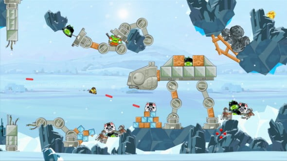 Angry Birds might be the cutest thing in Star Wars since Ewoks.