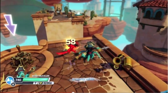 Even with more platforming, the core game play still is all about hacking and looting.