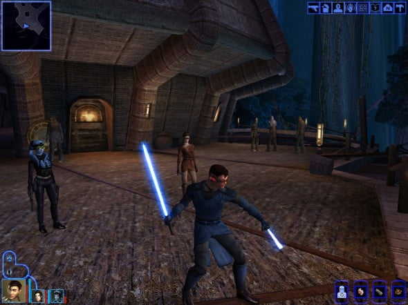 KoTOR, often lauded as one of the best RPGs of all-time.