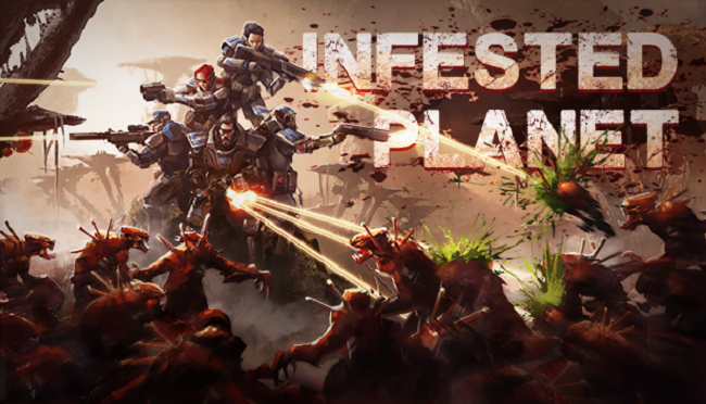 Infested Planet Logo