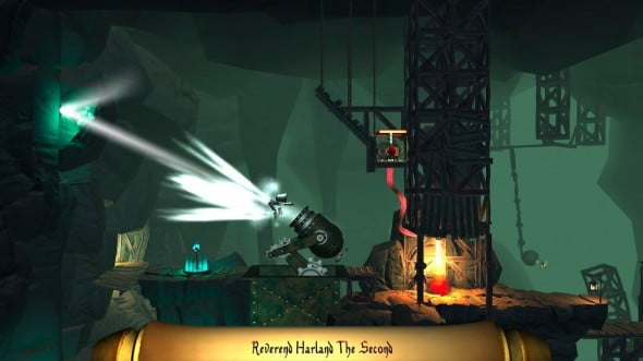 Use cannons, ice sprays and armored- clad corpses to trigger switches and disable obstacles.
