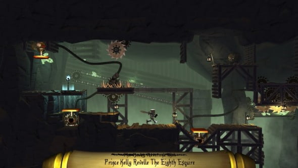 Traverse levels full of dangerous obstacles and thought-prevoking puzzles to capture the Cup of Life.