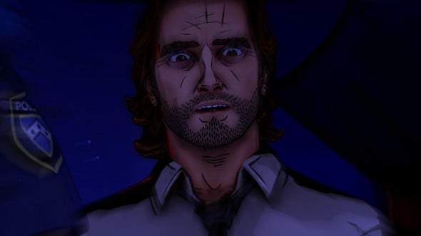 The end of episode one pushes poor Bigby close to the edge and episode two is all about keeping him from losing his head.