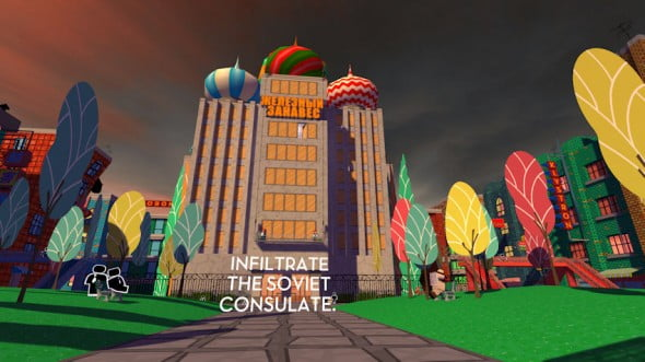 Jazzpunk Soviet Consulate