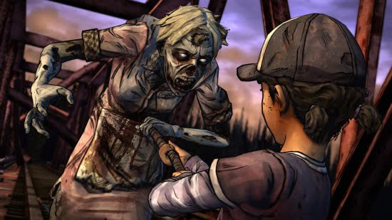 As Clementine, action beats this season add a sense of vulnerability that we rarely see in videogames.