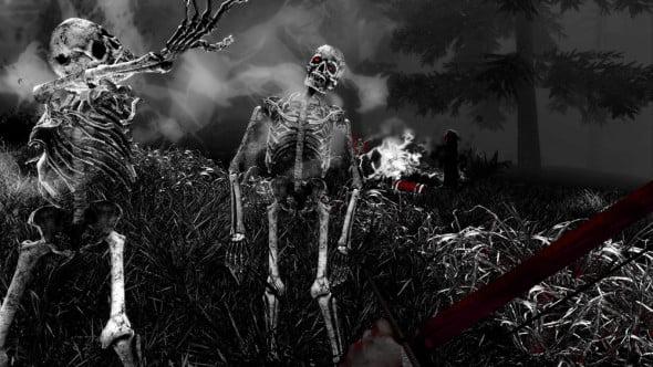 Skeletal enemies