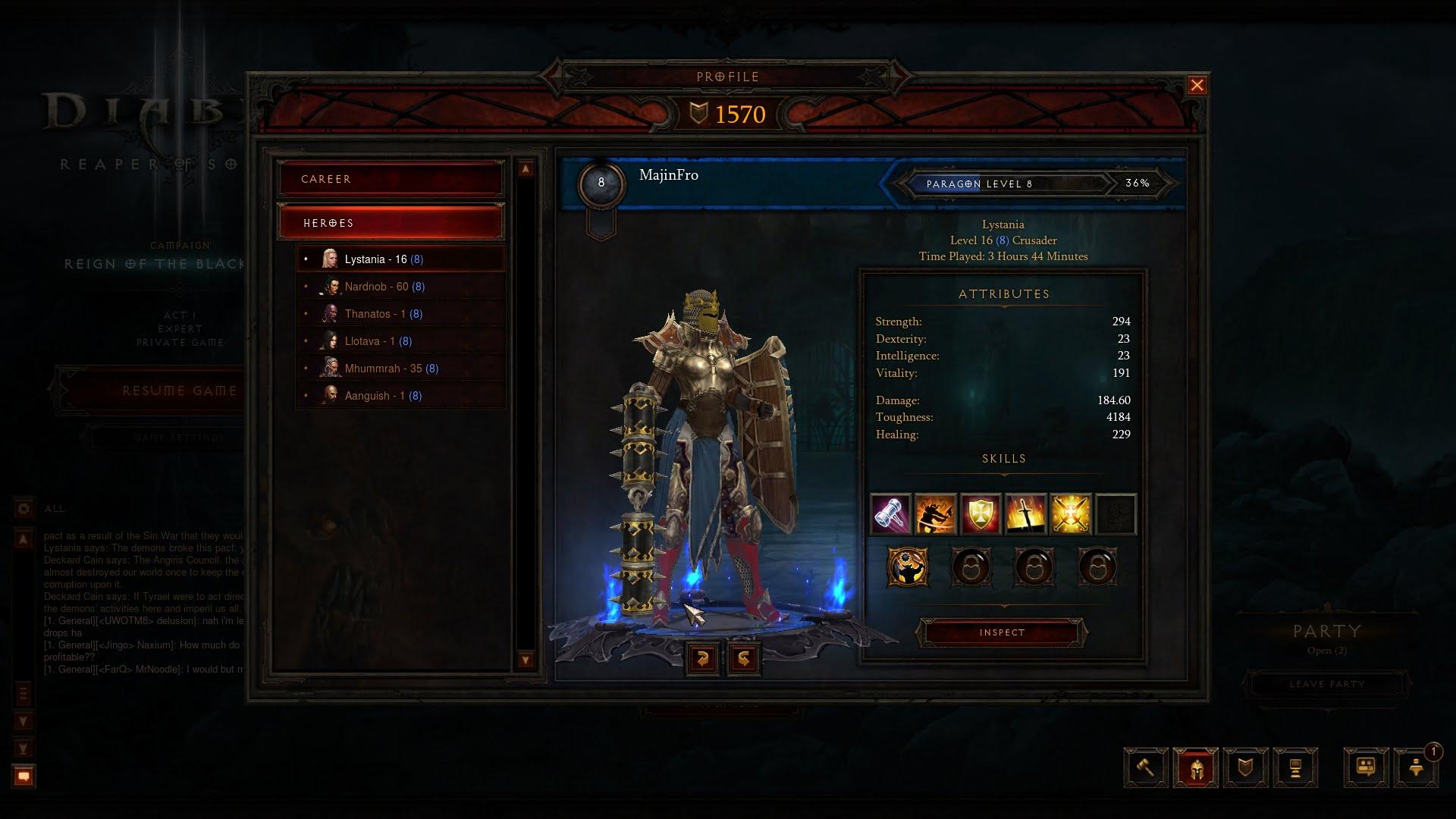 Diablo  Fun Crusadrtr Build
