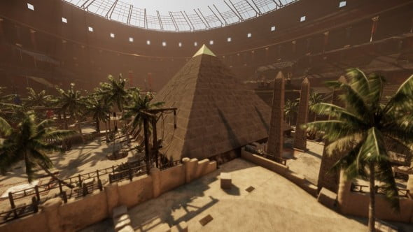 The Great Pyramid Arena