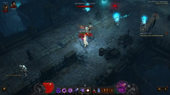 Reaper of Souls starts players off in the streets of Westmarch.