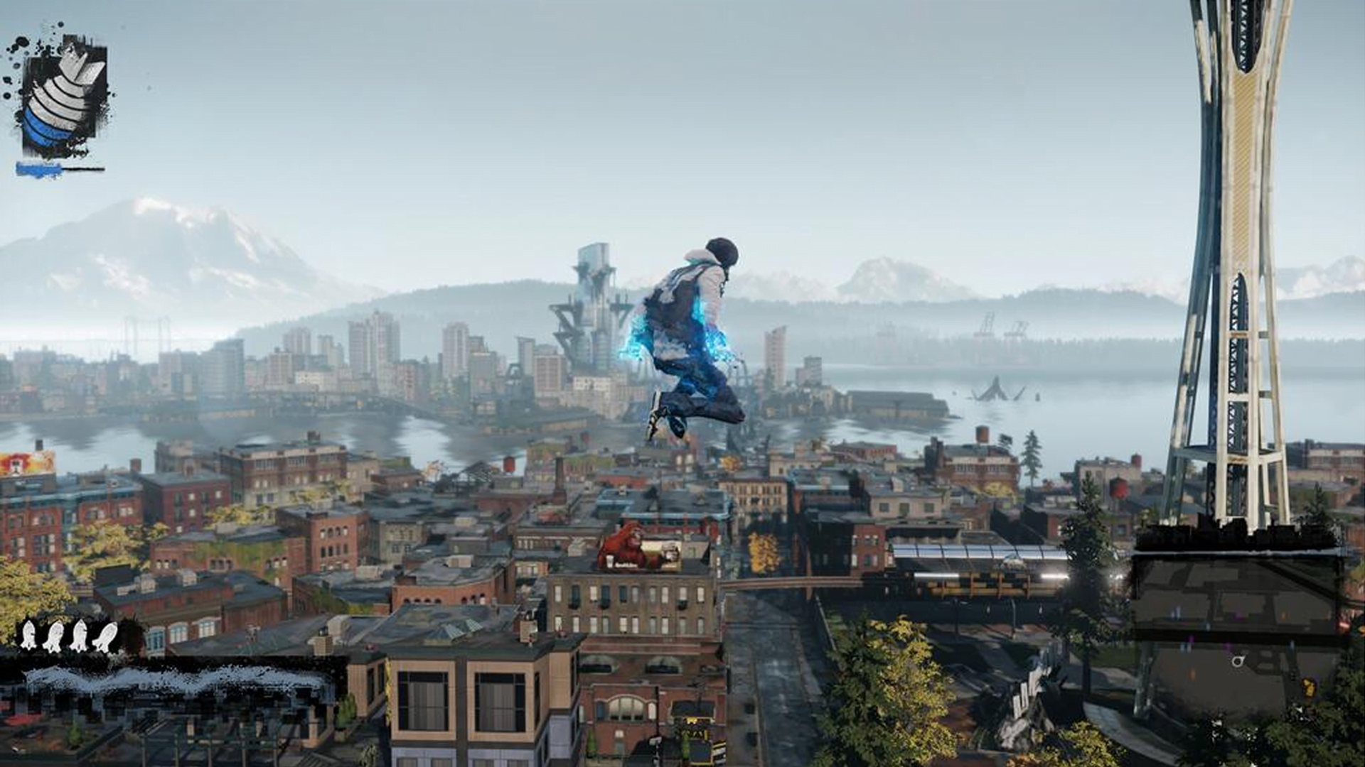 InFamous Second Son Review | GIZORAMA on infamous blast shard map, infamous second son queen anne map, infamous second son seattle flag, infamous second son district map, minecraft seattle map, infamous second son city map, infamous 2 map, seattle science center map, infamous second son game map,