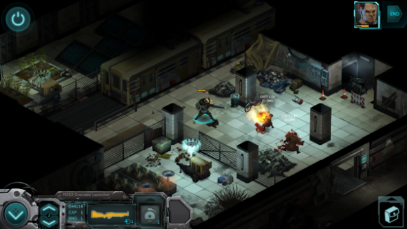 Combat is surprisingly fast and vicious considering it's turn-based - but you may find yourself wishing for Bloody Mess to be activated.