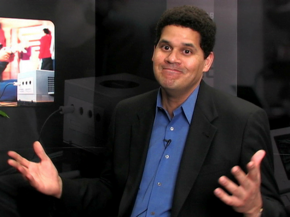 """Much like Reggie fils Aime, I too love recycling old things."""