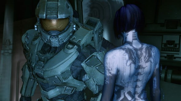 The Master Chief and Cortana are symbolic of Halo's epic campaign.