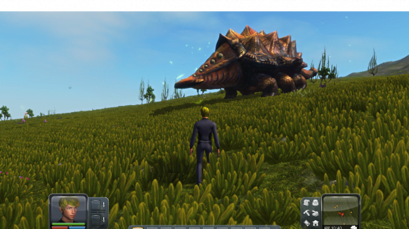You'll find a large variety of unique creatures while exploring.
