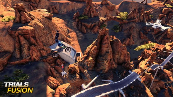 There are specific tracks and challenges dedicated to tricks in Trials Fusion once players unlock FMX mode.
