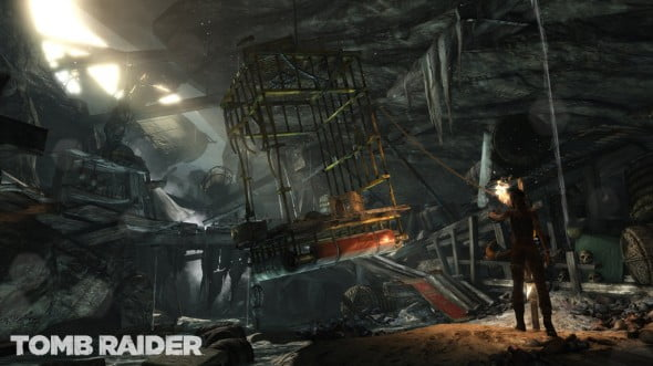 This first challenge, with the goal of getting Lara away from her mysterious captors, sets the tone for every quest to follow.