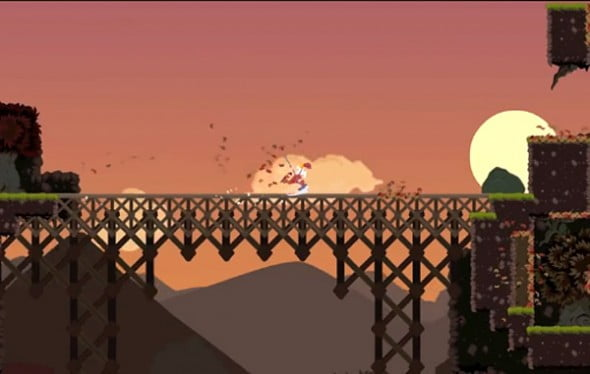 Dustforce sports an art style all it's own