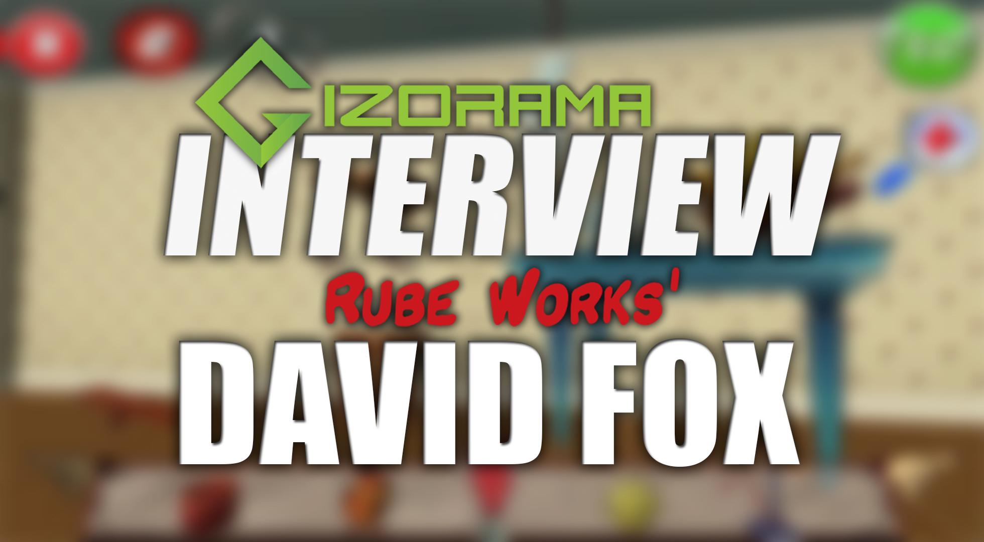 Photo of Rube Works' David Fox Developer Interview