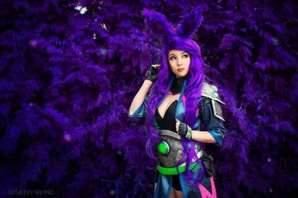 Monika Lee's Aurin cosplay, taken by Martin Wong