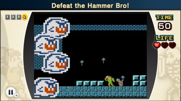 "The age old question of ""Who would win in a fight between Link and a Hammer Bro?"" finally comes to head."