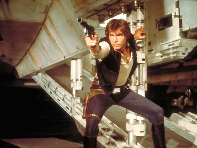 Photo of Harrison Ford Injured by Millenium Falcon on Set of Episode VII