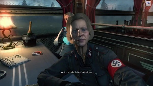 It's the honest and quieter moments of Wolfenstein: The New Order that really shine and drive the excellent character development.