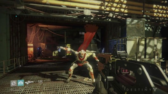 Forget the watermark - you can pretty much tell this is a Bungie game by seeing what the enemies look like. Not that I'm complaining - I'd still take this over photo-realistic terrorists.