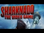 "Oh, NOW I get it. It's combining the words ""shark"" and ""tornado""!"