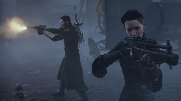 It's difficult to argue that The Order: 1886 isn't the best looking console game on the horizon.