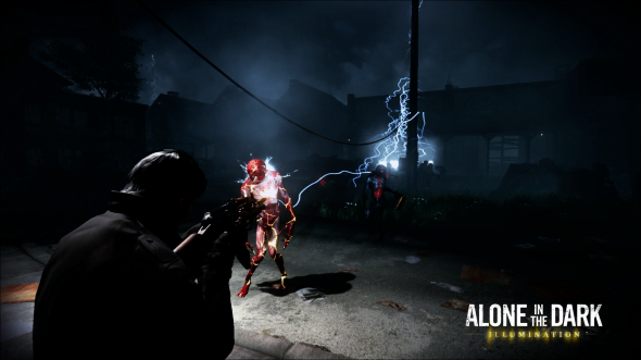 Alone in the Dark: Illumination's atmosphere is amazing, and the monsters are certainly creepy!