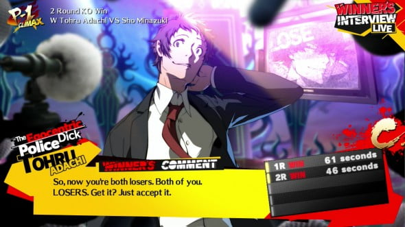 Adachi is the best.