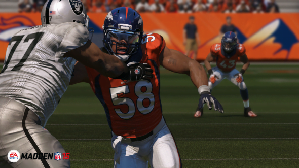Madden 15 wisely redesigned the defensive side of the game.