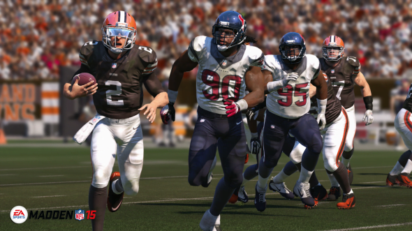 Everything about Madden 15 is absolutely stunning to look at.