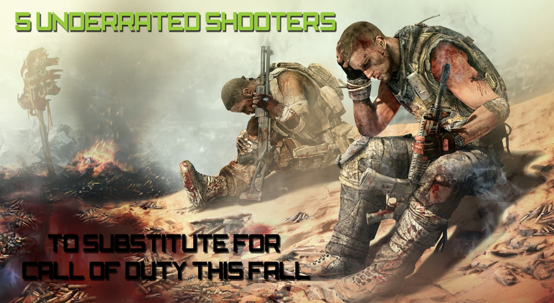 Photo of 5 Underrated Shooters You Can Substitute For Call of Duty This Fall